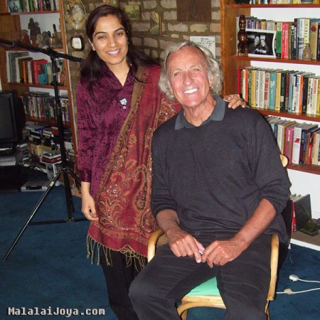 Malalai Joya with John Pilger in London