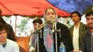 Joya addressing Nowruz Festival