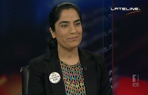 Joya speaking on lateline program of ABC - Australia