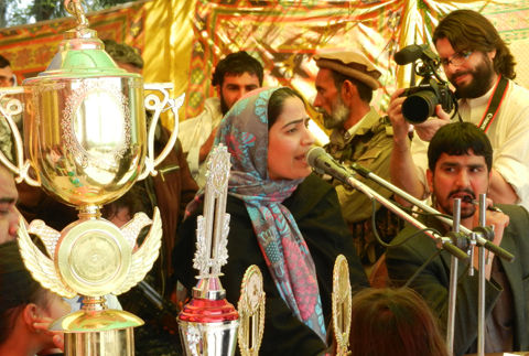 Joya addressing Nowruz Festival in South of Afghanistan