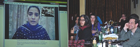 Malalai Joya via Skype at Busboys and Poets 3.22.11