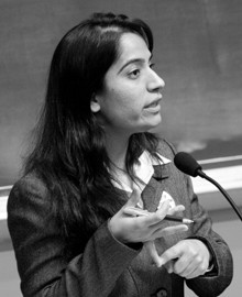 Malalai Joya in the Massachusetts Institute of Technology (MIT)