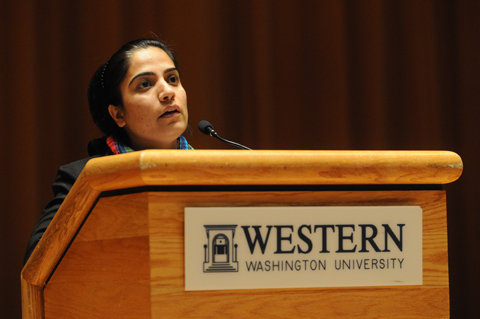 Malalai Joya in the Western Washington University