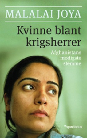 Norwegian version of Malalai Joya's book