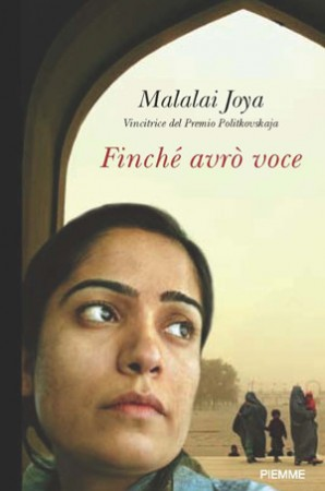 Italian version of Malalai Joya's book
