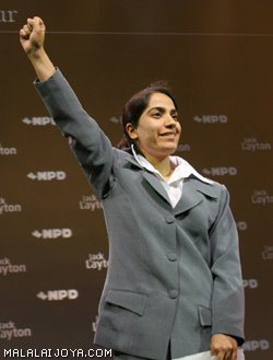 Joya in NDP Convention