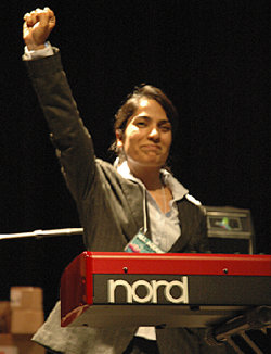 Malalai Joya in University of California