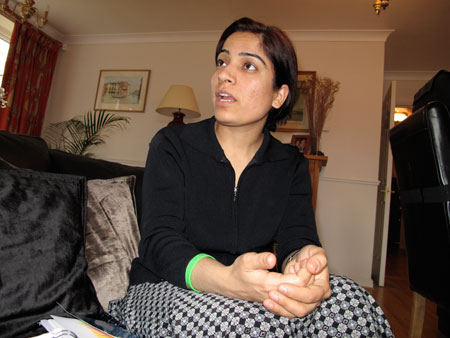 Malalai Joya in London